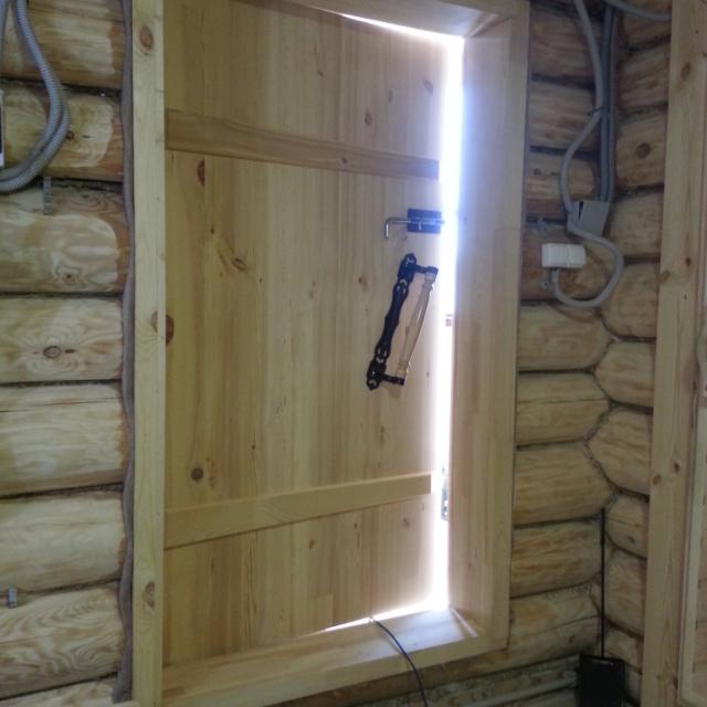 Дверь банная. Проект №5